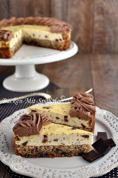cheesecake with nut chocolate