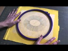 Embroidery Pattern Transfer and Stabilizer with Sulky Sticky Fabri-solvy