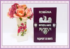BebeStudio11.com - Invitatii Nunta si Botez: Invitatii Nunta Pasaport de Nunta Place Cards, Place Card Holders