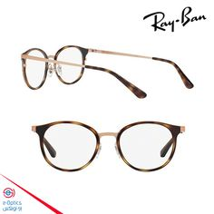 ray ban light brown havana frame rb6372m 2732 is