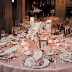 Rose gold wedding theme: 12 FAB ideas from decorations to dresses Rose Gold Theme, Gold Wedding Theme, Wedding Themes, Wedding Ideas, Trendy Wedding, Wedding Table Ideas Elegant, Small Elegant Wedding, Rose Gold Centerpiece, Gold Centerpieces