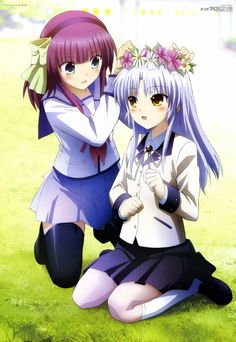 Angel Beats!: Yuri and Tenshi 2