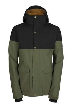 The 2014/2015 Men's Tanner Jacket. 15K Waterproofing and mechanical Oxford Fabric.