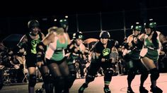 San Fernando Valley Roller Derby Promo - You're Stronger Than You Think
