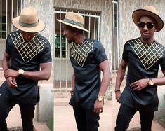 Chemise africain Mens vêtements africains pour hommes, African dashiki, Danshiki africain, Wax africain d'impression, usure africaine, chemise pour homme africain, boutique