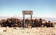 SUDAMÉRICA, MI LUGAR: La máxima altura, RN40, Abra del Acay, Salta, Argentina