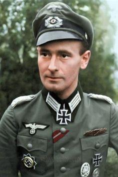 Major Heinrich Ruhl (1915-2015), Kommandeur Füselier Batallion 122, Ritterkreuz 21.09.1944, Eichenlaub (789) 16.03.1945
