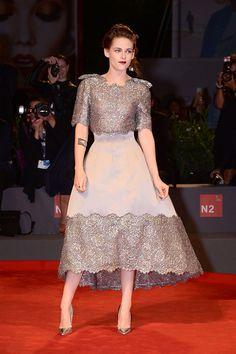 Kristen Stewart in Chanel dress