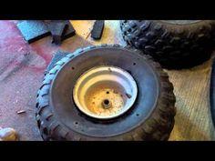 How to make flatproof tires - YouTube