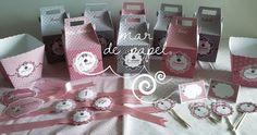 MAR DE PAPEL: El primer cumple de Amanda: Minnie en rosa vintage...