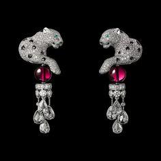 rubies.work/… CARTIER High jewellery earrings