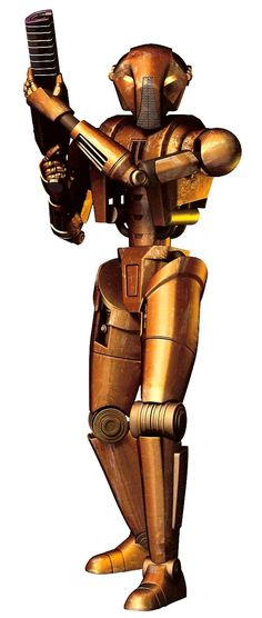 "HK-47 is a Hunter-Killer assassin droid who successfully eliminated countless targets whom were deemed threats to galactic stability and peace in the ""Star Wars"" Universe"