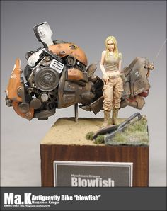"[Build] Antigravity Bike ""blowfish""  http://blog.naver.com/kunyho78/220801677411"