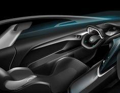Honda Patrol -- SUV / Pickup Truck Interior Design for 2030