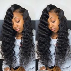 Peruvian Human Hair Wig Silk Top Base Full Lace/Lace Front Wigs with Baby Hair 2 The Wig Shop, Custom Full Lace Wigs, Beard Wig, Curly Hair Styles, Natural Hair Styles, Human Hair Lace Wigs, Lace Hair, Wigs For Black Women, Scene Hair