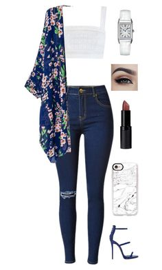 """Untitled #277"" by lexi4life646 ❤ liked on Polyvore featuring Zimmermann, Giuseppe Zanotti, Jaeger-LeCoultre, Casetify and New Look"
