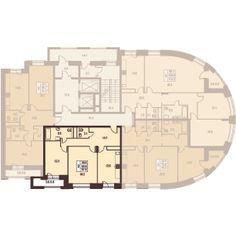 2 комнаты 67.6 м²