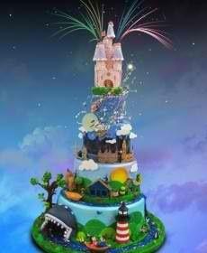 Disneyland Park Cute Cakes Yummy Fancy Beautiful Amazing