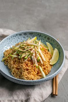 These gochujang peanut noodles with patty pan squash are a delicious and super easy meal! These nutty, spicy noodles are great hot or cold! Pescatarian Recipes, Vegetarian Recipes, Patty Pan Squash Recipes, Gochujang Recipe, Whole Food Recipes, Cooking Recipes, Easy Recipes, 21 Day Fix Breakfast, Vegan Patties