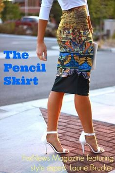 Featured: Fox News asks Laurie Brucker how to style the pencil skirt