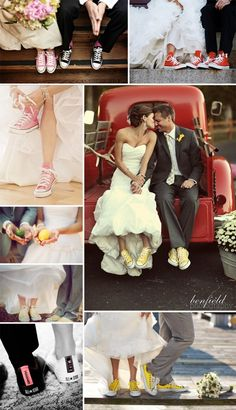 Love the shoes for both the bride and groom. @Suzie Kidwell Stockmann Finley