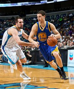 3.18.13   Klay Thompson chipped in 13 points including three treys.