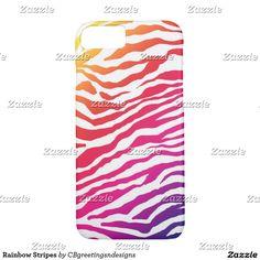 Rainbow Stripes iPhone 7 Case