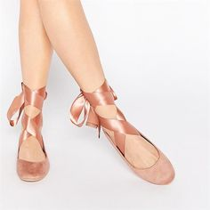 Ballerina Ribbon Flats Ballerina Ribbon Flats How to Make Over Your Entire Look With Only Accessories via Eur Size Bow knot Flats Woman Square Toe Ballet Flat Shoes Girls Casual Bow Knot Shallow Mouth Shoes Outfit Accessories From Touchy Style. Women's Ballerina Flats, Ballet Flats, Clarks, Women's Fashion Leggings, Prom Shoes, Women's Shoes, Flat Shoes, Golf Shoes, Studded Heels