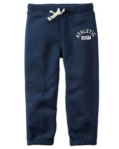 Toddler Boy Fleece Active Pants from Carters.com. Shop clothing & accessories from a trusted name in kids, toddlers, and baby clothes.