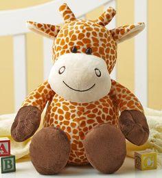 Plush Giraffe #stuffedanimals #newbaby #babytoys