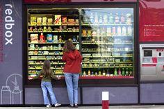 Redbox vending machine