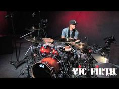 Exclusive performance from Vic Firth Signature Artist Tony Royster Jr. Drum Solo, Drum Music, Drums Beats, Drum Lessons, How To Play Drums, Drum Kits, Korn, Great Bands, Percussion