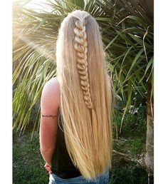 beautiful half up braided hair braidbyc