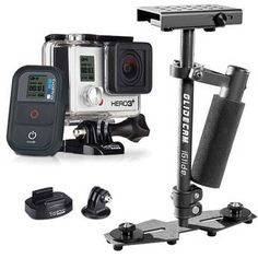 GoPro HERO3+ Black Edition with Glidecam iGlide Stabilizer and Tripod Mount