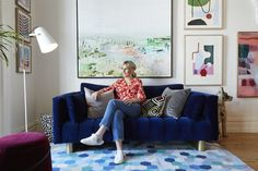 Our resident lady boss Lucy Fenton sat down with the team at to share her tips and tricks on how to style your home like… Beautiful Interiors, Colorful Interiors, Built In Bar, Source Of Inspiration, Sydney, Melbourne, Decorating Tips, Home Interior Design, Décor Ideas