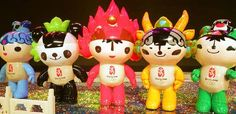 And then there were five … the Olympic mascots.