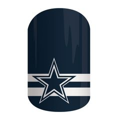 Dallas Cowboys | Jamberry  Let's go boys! See more NFL nail wraps and order here: https://jackieshaw.jamberry.com/us/en/