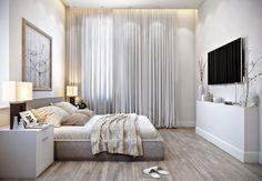 """◻️◽️▫️Белый цвет в спальне всегда и во все времена остается актуальным. Спальня в этом цвете будет выглядеть утонченно и элегантно. Не стоит пугаться белого цвета из-за его не практичности достаточно на некоторых элементах мебели добавить другой по тональности оттенок, это подарит спальне особую уютную атмосферу, как в нашей ✨спальне сделанную для дома в коттеджном поселке """"Река-Река"""" #белый#спальня#работы_estee #estee_design #дизайн #дизайнер #дизайнинтерьера #дизайн_интерьера #дизайндома…"""
