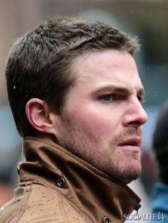 Arrow TV Series Oliver Queen Brown Jacket