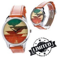 Orange Bike Sunset Watch  Wristwatch / Cool Modern by ZIZWatches, €40.00