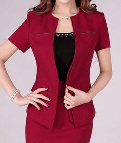 blazer feminino manga curta - Pesquisa Google