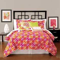 Girl Powers -- Geo Comforter Twin Set, $125, now featured on Fab.
