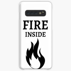 'Fire Inside' Case/Skin for Samsung Galaxy by RIVEofficial Pin Pin, Protective Cases, The Creator, Online Shopping, Entrepreneur, Custom Design, Samsung Galaxy, Passion, Fire