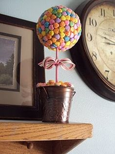 Valentine's Day *Decoration* - Conversation Candy Topiary (tutorial)
