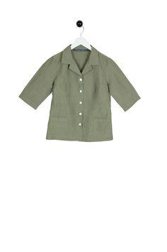 Alloro Blouse green striped Green Blouse, Green Stripes, Shirt Dress, Sweaters, Mens Tops, Shirts, Dresses, Women, Fashion