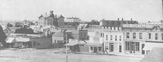 Ellis County - Downtown Hays, 1880's