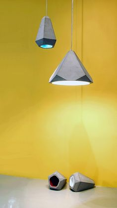 #Cement pendant #lamp PORTLAND Portland Collection by Innermost | #design James Bartlett
