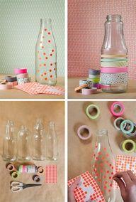 Washi bottles...