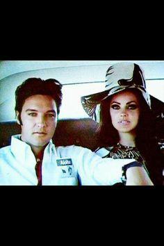 ♡♥Elvis Presley with Priscilla♥♡
