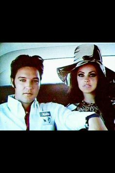 ♡♥Elvis Presley with Priscilla♥♡